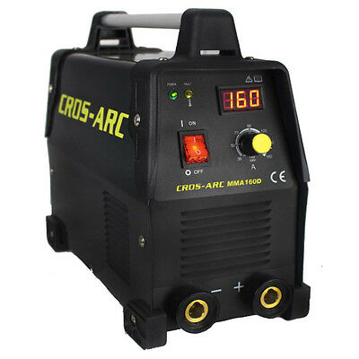 CROS-ARC MMA Welder Cros Arc 160d 110/230V dual voltage DC