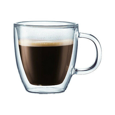 Trend'up - Set 6 Tasses A Cafe Double Paroi Verre Borosilicate 9Cl