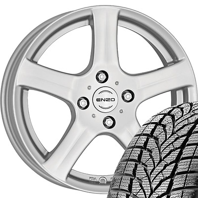 4x Winteraluräder FORD C-Max Grand DXA 215/55 R16 93T Star Performer
