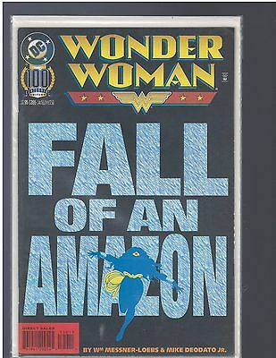 "Wonder Woman #100  (Dc,  1995)   ""fall Of An Amazon"""