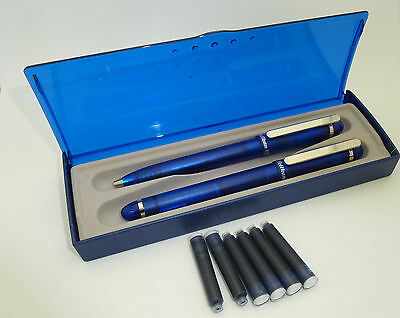 Rare - Unused Translucent Blue Pelikan Fountain Pen - M Steel Nib