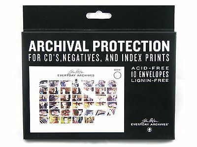 "John Porter Archival Photo Storage Envelopes, 1 Case (120-Count) 7"" X 5"""