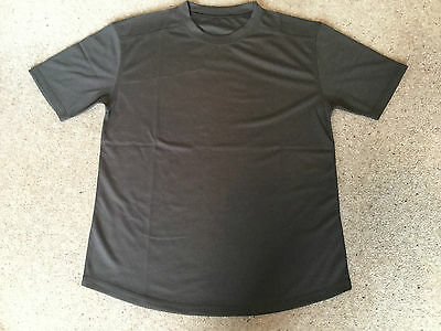 BRITISH FORCES COOL-MAX TEE SHIRT SELF WICKING USED SIZE MEDIUM 102cm