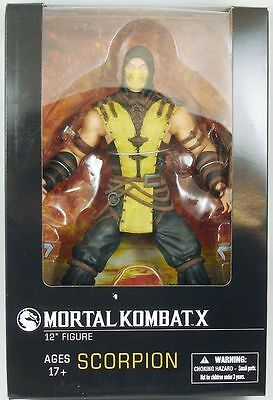 Mortal Kombat 1/6 Actionfigur Scorpion 30 cm Mezco