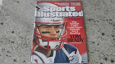 Sports Illustrated June 1 2009 Tom Brady New England Patriots