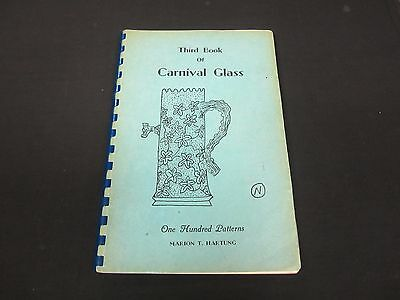 Third Book of Carnival Glass by Marion T. Hartung (1962 Signed)