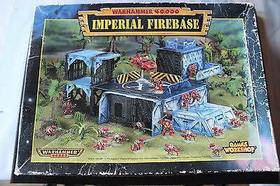 Games Workshop Warhammer 40k Imperial Firebase Boxed Spares and Repairs Job Lot