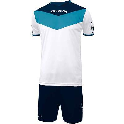 Kit Campo Givova Calcio Calcetto Sport Completino Allenamento Football Partita
