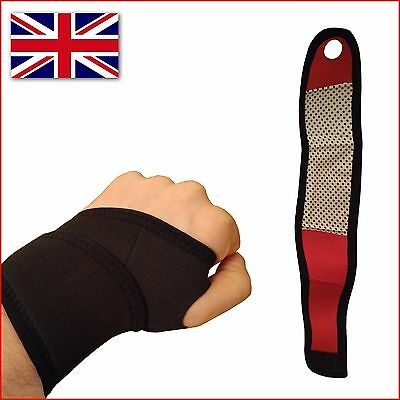 Sport Wristband Brace Support Wrist Wrap Gym Strap Bandage Sprain Protection