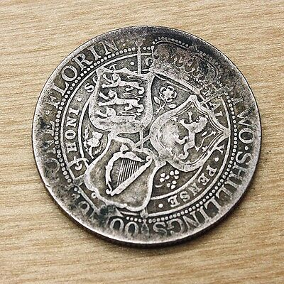 1900 Great Britain Florin Silver