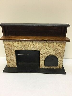 Artisan Made 1:12 Scale Fire Place With Nice Detailing