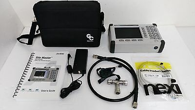 Anritsu S331D SiteMaster, Cable & Antenna Analyzer, 25MHz to 4000MHz, w/Color