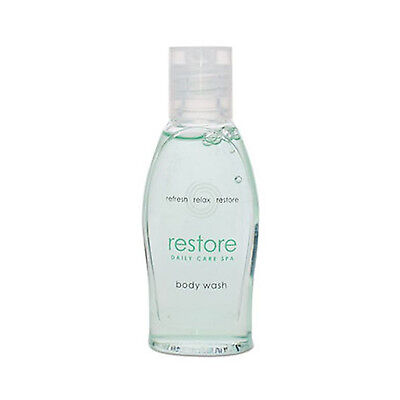 Brand New Case of 288! Dial Restore Body Wash 1oz For The Hospitality Industry