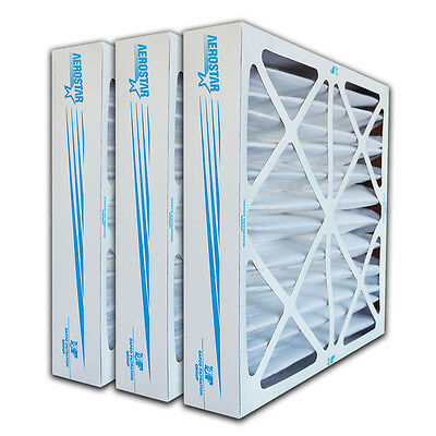 20x25x4 Filter | 6 PACK | MERV 8 - High Efficiency | Furnace Air Filter |
