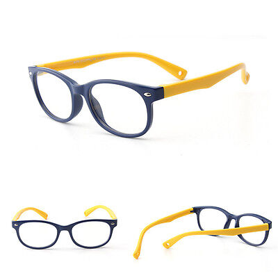 Fashion Gift Children Glasses Frame Silicone Material Rope Flat Sunglasses