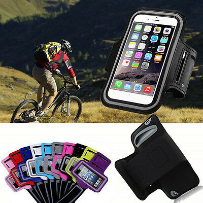 For Samsung S8 Plus S7 S6 Note5 Sports Running Jogging Armband Case Cover Holder
