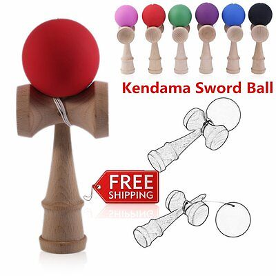 Elastic Kendama Sword Ball Wooden Toy Skillful Juggling Ball Game Toy Gift BT