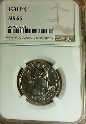 1981 P Susan B. Anthony Dollar MS 65 NGC - Make an offer instant response