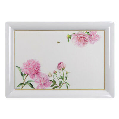 NEW Ashdene Pink Peonies Large Serving Tray