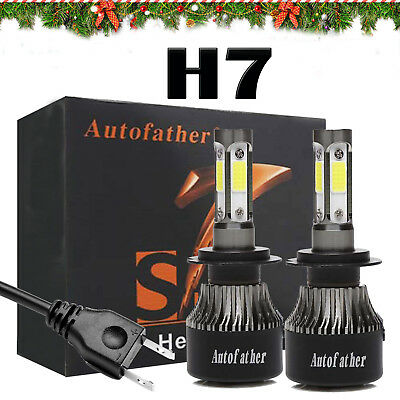 LED H7 Car Driving Headlights 110W Lamp Conversion Bulbs Beam Kit For Ford Focus