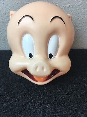 Porky Pig Warner Bros Looney Tunes Coin Piggy Bank Vintage