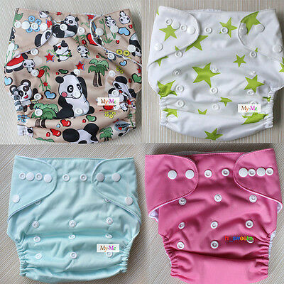 LittleBloom Baby Cloth Washable Reusable Nappy Pocket Diaper with Insert hot UK