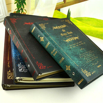 Magic Hard Cover Loose-leaf Notebook Journal Diary Ruled NotePad Memo Sketchbook
