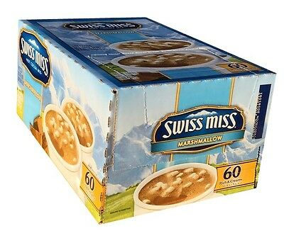 Swiss Miss Hot Cocoa Mix - MArshmellow Chocolate Mix 120 packet - Real Milk