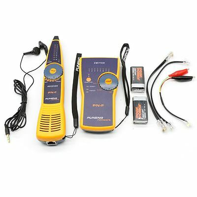 RJ45/11 Network LAN Telephone Cable Toner Wire Line Tester Tracer Tracker in UK