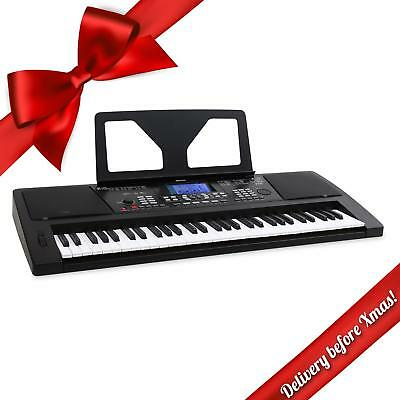 Usb Midi Controller 61 Key Electric Keyboard Portable Piano Dj Recording Music