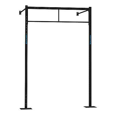 New Power Rack 2 X Pull Up Bar Wall Mountable Sports Fitness Gym Home Excercise