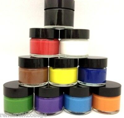 BODY / FACE PAINTS - Vivid Colours, Australian Skin Safe, Non Toxic, Easy Dry