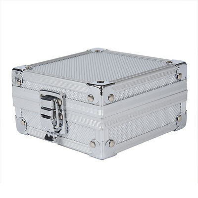 Aluminum Case Box with Clasp for Rotary or Coil Tattoo Gun Machine BF