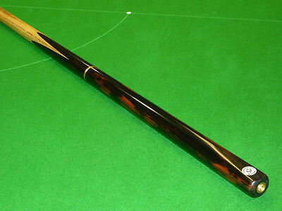 3/4 Phoenix Master 16 Hand spliced Snooker cue selected Ash & Macassar Ebony