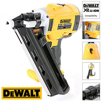 Dewalt DCN692N 18V Cordless Brushless First Fix Framing Nailer 90mm - Body Only