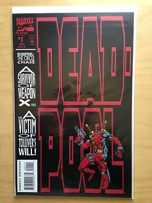 DEADPOOL #1 (NM) 1993 The Circle Chase / Marvel Comics Movie