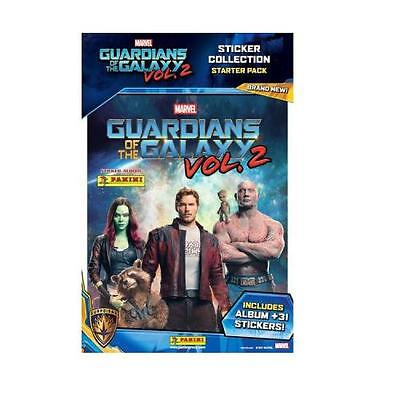 Panini Marvel Guardians Of The Galaxy Vol 2 Sticker Album Free 31 Stickers