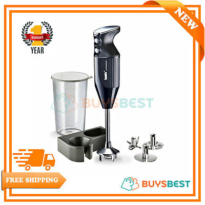 Bamix Gastro Heavy Duty Hand Held Food Processor With Longer Shaft 160W 102.318