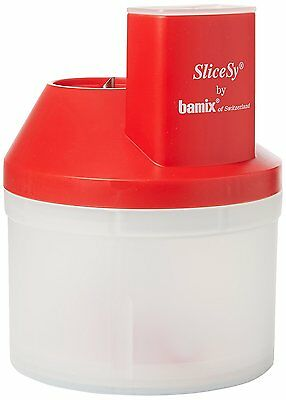 Bamix SliceSy Full Set Food Processor Accessory Red 150.085