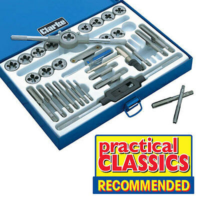 Clarke Cht304 33 Piece Tap & Dig Set Imperial & Metric 1801304