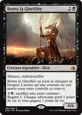 Bontu the Glorified / Bontu la glorifée / Amonkhet