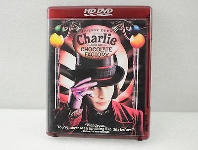 Johnny Depp Charlie And The Chocolate Factory HD DVD Movie Original Release