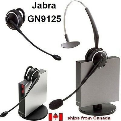 Jabra GN Netcom GN9125 Flex DECT 6.0 Wireless Headset System  **USED**