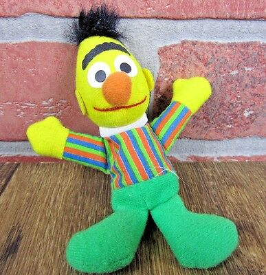 Sesame Street Burt soft plush toy character Kelloggs VINTAGE collect EXCELLENT