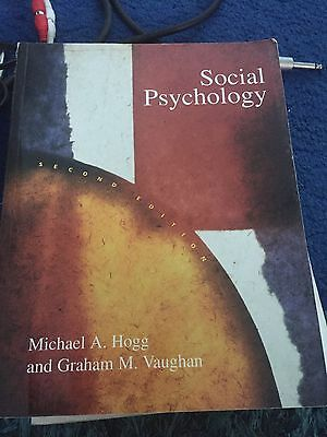 Social psychology prof michael hogg prof graham vaughan 499 social psychology by michael a hogg graham vaughan paperback 1998 fandeluxe Image collections