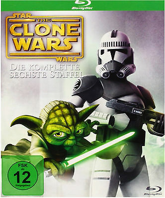 Star Wars The Clone Wars - Saison 6  Blu Ray NEUF #