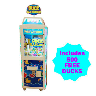 Duck Catcher Crane Machine (No Dollar Bill Acceptor) with 500 Free Ducks