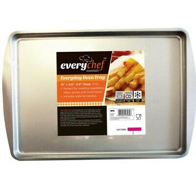 Non Stick Baking Tray Dishwasher Safe Strong Steel Premier Oven Baking UK Seller