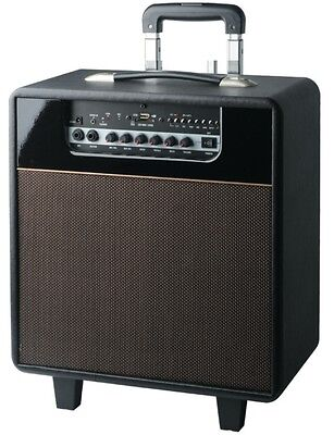 New BLACKMORE BRS-2008 Rechargeable 3-way Bluetooth MP3 PA Guitar Amp with Mic