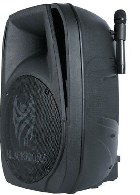 New BLACKMORE BJP-15BT Active Dual 15 Cab Wireless Mic Pack